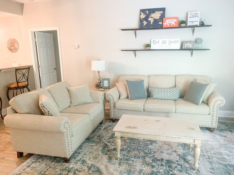 ULTIMATE MAIN ST. DOWNTOWN GREENVILLE CONDO!  2 BED, 2 FULL BATH!, vacation rental in Greenville