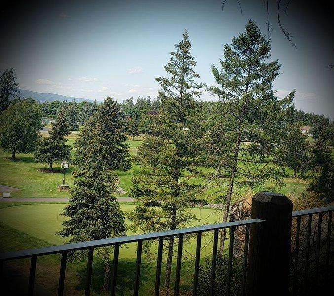 Luxurious Montana Lodge on Golf Course, location de vacances à Bigfork