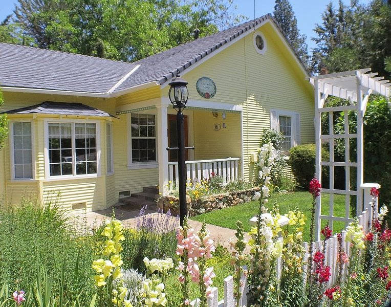 Adorable Cottage Near Downtown- Little Yellow, holiday rental in Murphys