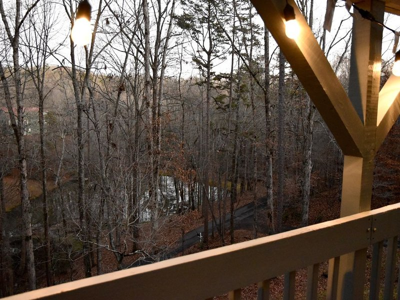 Overlook to Pond From Covered Deck