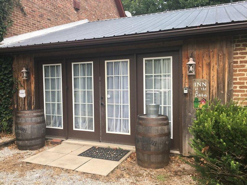 Inn at the Barn Jackson County Ohio, holiday rental in Bidwell