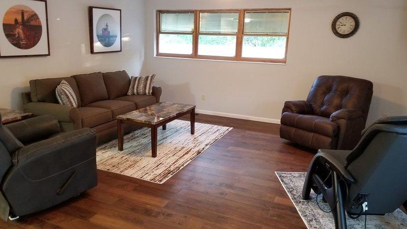 Twin Lane Liegen, Queen Sleeper Couch für zwei Personen.
