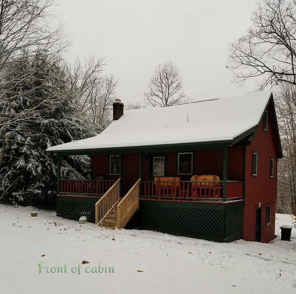 Stunning Glendale Lake area cabin in the mountains of central Pennsylvania, holiday rental in Curwensville