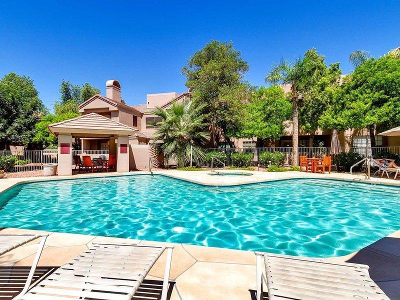 Villa Antigua erbjuder en tyst resort-känsla i hjärtat av Scottsdale!