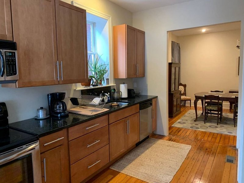 Spacious APT close to all major attractions - Walk to SLU Medical Campus, holiday rental in East Carondelet
