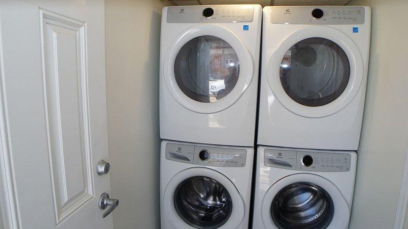 Servicio de lavandería compartido para su uso.