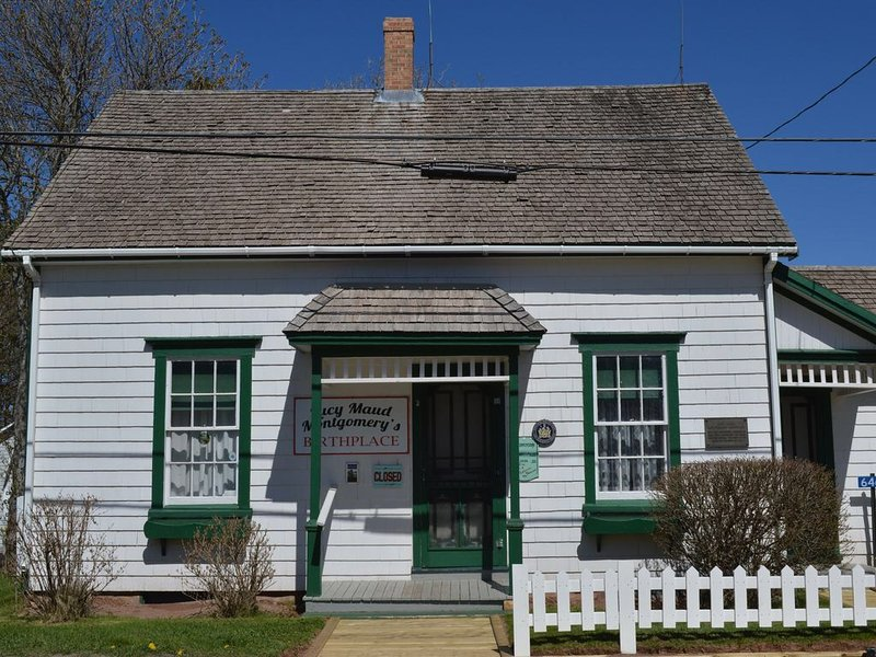 Lucy Maud Montgomery birth place in the area