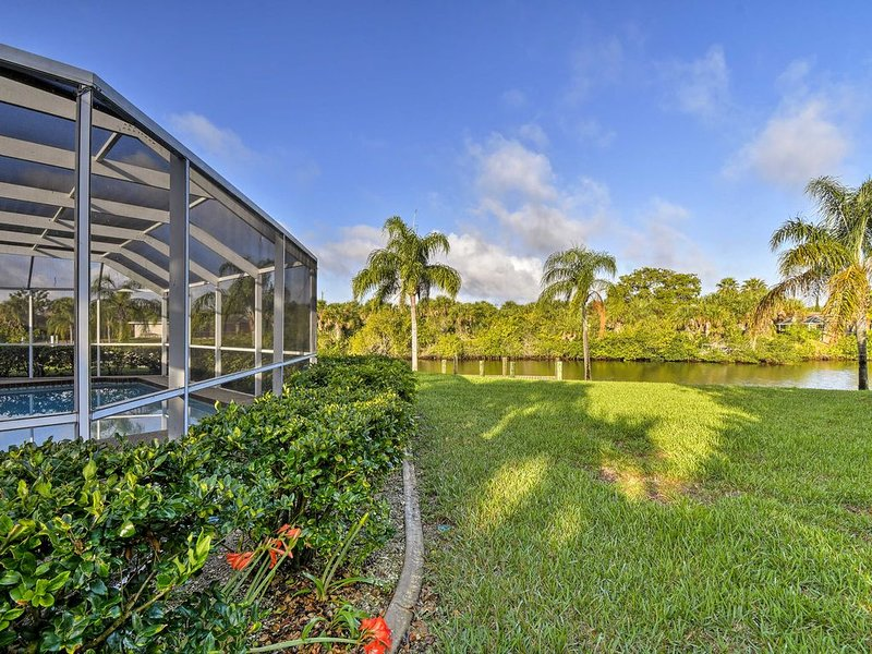 Peaceful Port Charlotte Home w/Lanai, Pool & Dock!, vacation rental in Port Charlotte