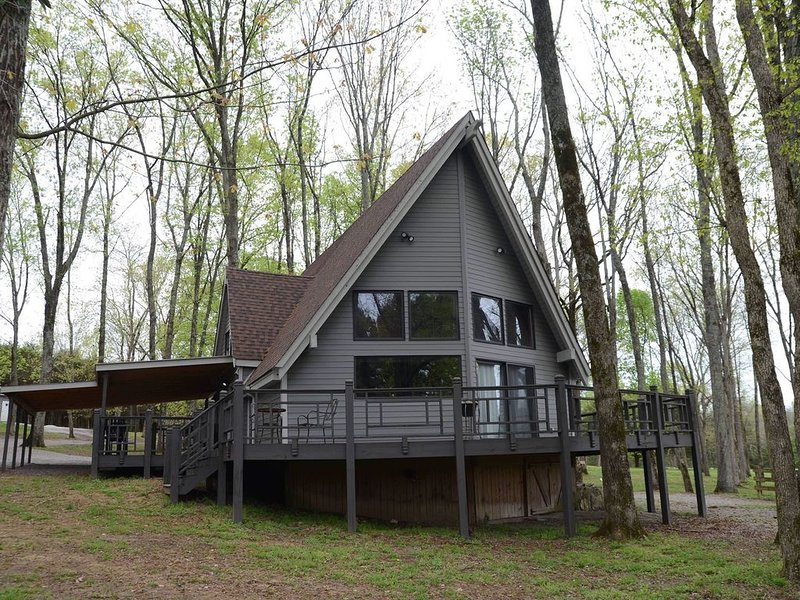 Multiple Cabins, sleeps 29, 150 Acre Farm, in Nashville, Wedding/Event Welcome, holiday rental in Gladeville