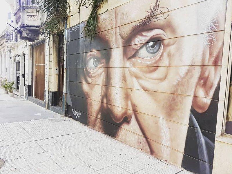 Street Art next door.