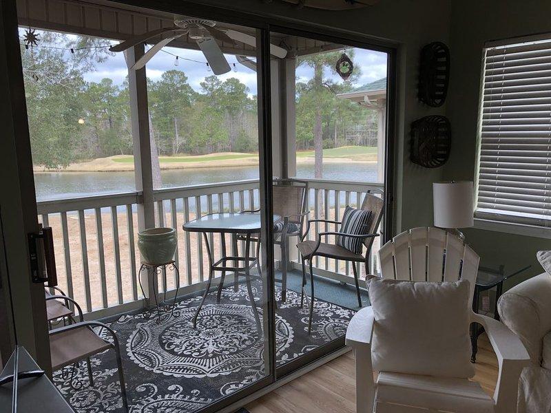 Golf Villa Condo, True Blue Resort, Pawley's Island SC, vacation rental in Litchfield Beach