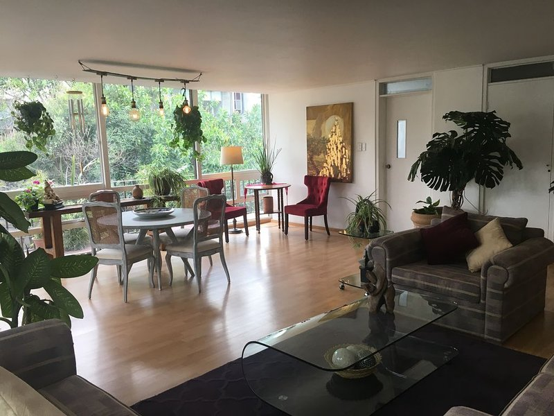 UNFORGETTABLE VACATION IN THE HEART OF CONDESA, vacation rental in Mexico City