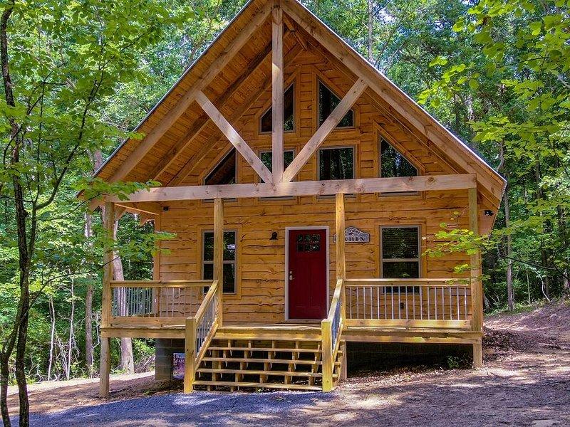 Brand new cabin!!!!!, location de vacances à Pisgah