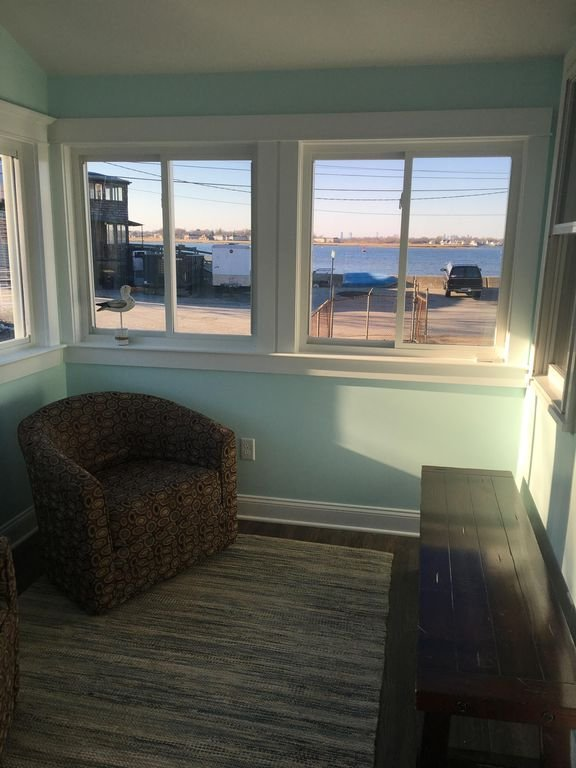 Front room with more ocean views welcomes you into this home