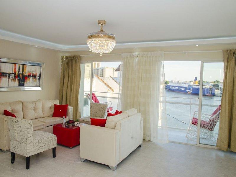 Waterfront View apartment, aluguéis de temporada em Santo Domingo
