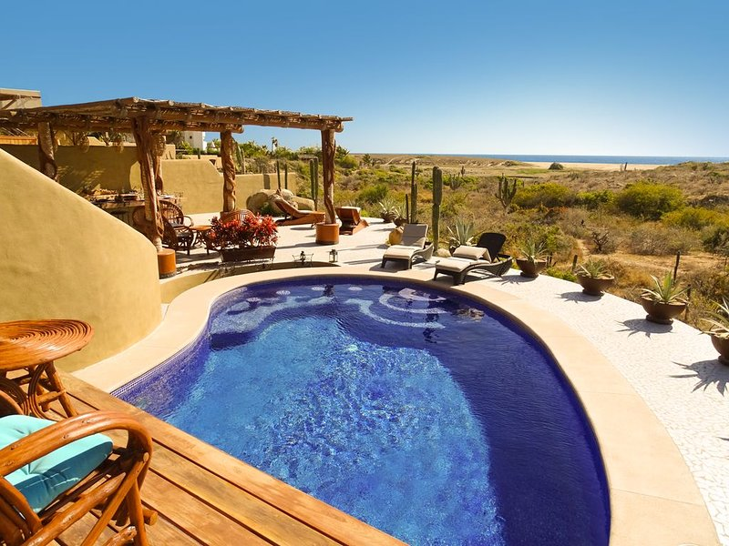 Vista Casa Mariposa.  Gorgeous Home , Private,Oasis Summer Special, holiday rental in Todos Santos