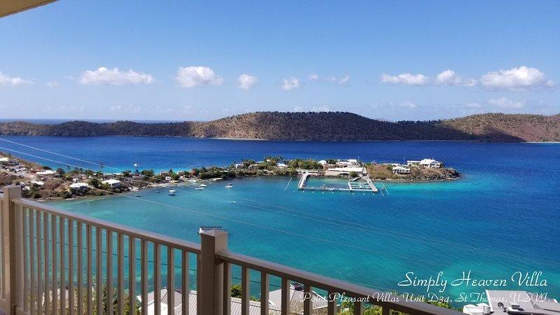 ★★★★★Spectacular Water View-Private Wrap-Around Balcony-3 Pools-2 Restaurants ☼☼, alquiler de vacaciones en Smith Bay