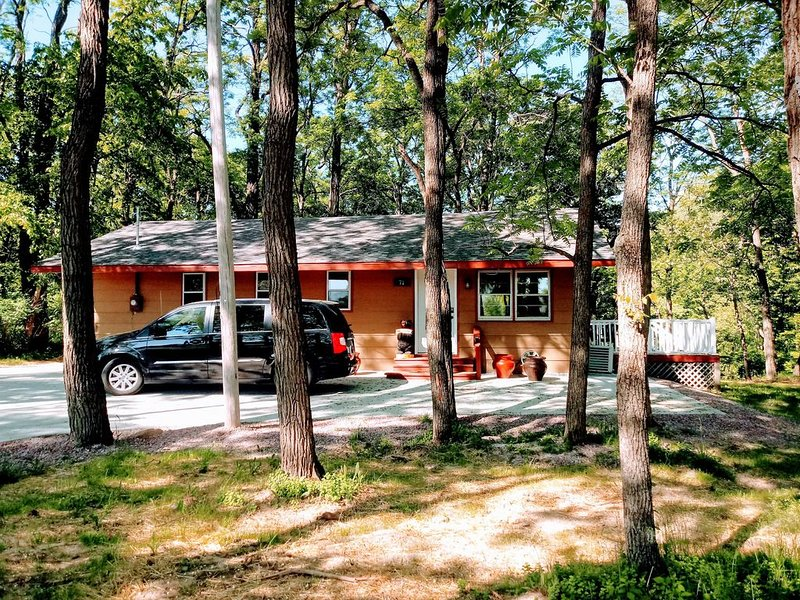 Wisconsin Dells Cabin in the Woods, vacation rental in Wisconsin Dells