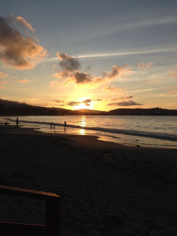 Sunset at Luquillo Beach
