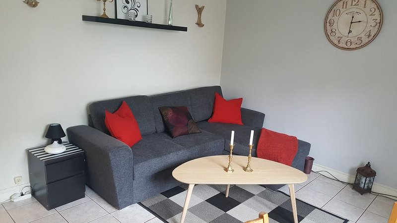 A lovely 2bedroom apartment on 1st fl in central RVK, vacation rental in Seltjarnarnes