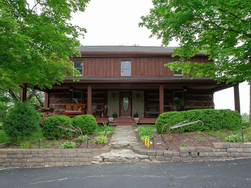 Historically Registered 1847 log Cabin, holiday rental in Middletown