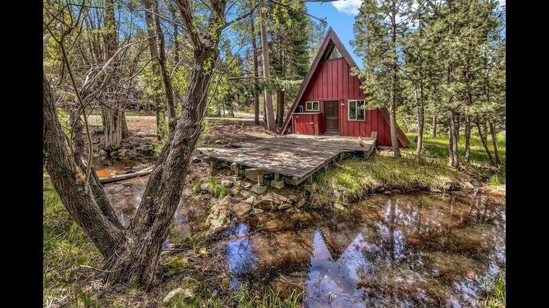 Peaceful A-frame Getaway, vacation rental in South Lake Tahoe