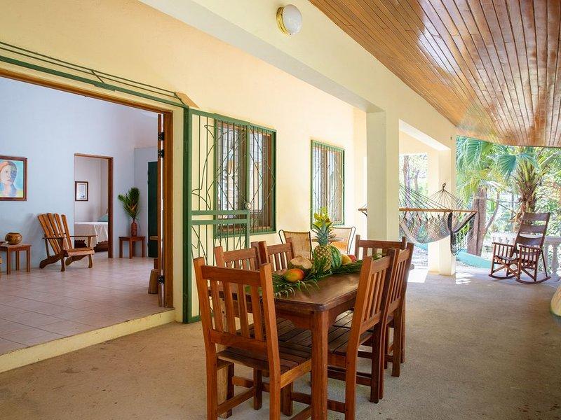 Casa tropical - Located in Playa Guiones - Nosara - Costa Rica, vacation rental in Playa Pelada