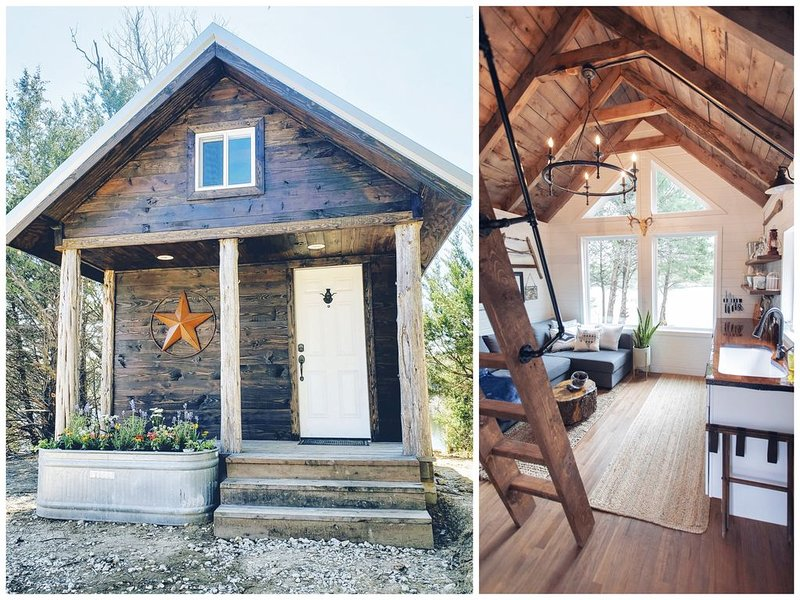 Small Rustic Cabin in the Woods 40 minutes from Dallas, location de vacances à Kemp