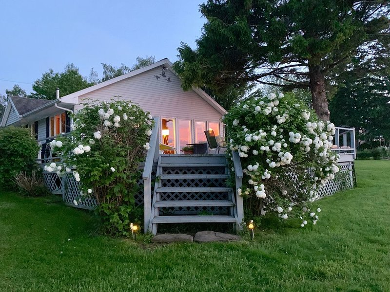 Beautiful cottage on 17 secluded acres fronting Lake Ontario. Peaceful, private. – semesterbostad i Sodus Point