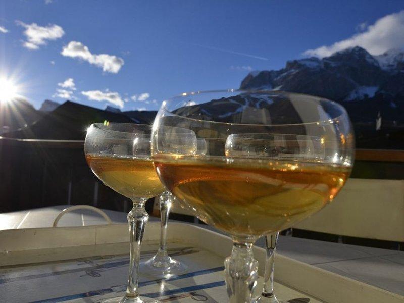 Cà Novella :appartamento in centro con terrazza sulle Dolomiti - WIFI, alquiler de vacaciones en Misurina