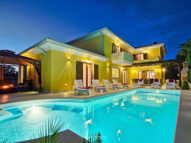 Beautiful villa near Pula close to the beach, location de vacances à Banjole