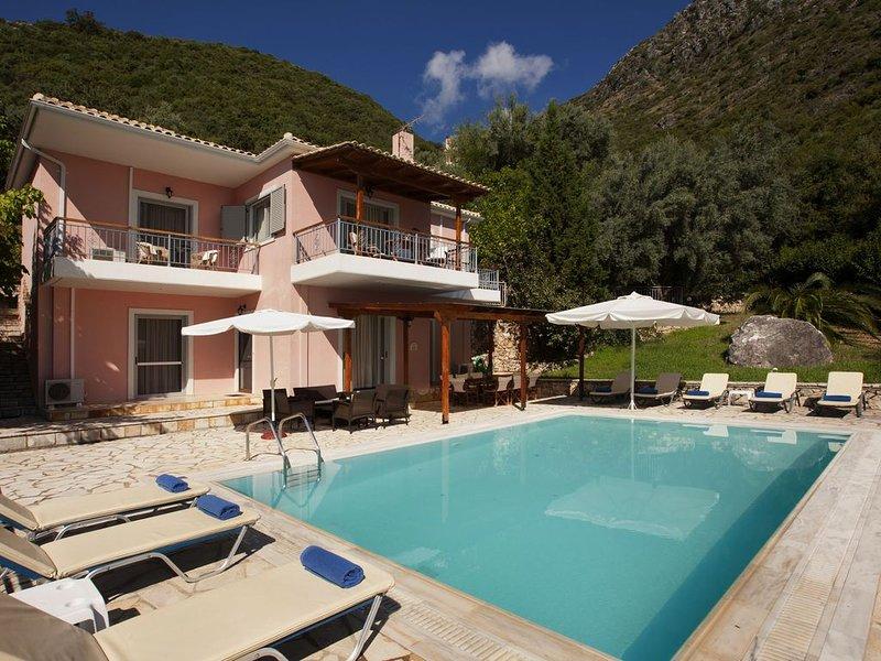 Villa Vasia, Lefkas, Greece, vacation rental in Perigiali