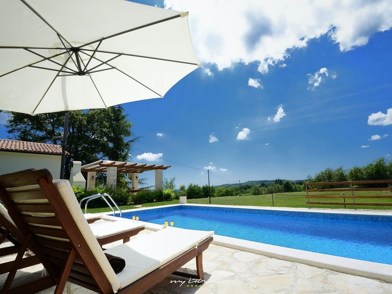 Charming villa with private pool in Central Istria, holiday rental in Gracisce