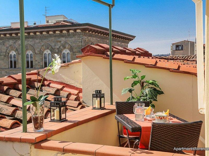 Apartments Florence - Piazza Signoria Terrace - Breathtaking View, holiday rental in San Martino alla Palma