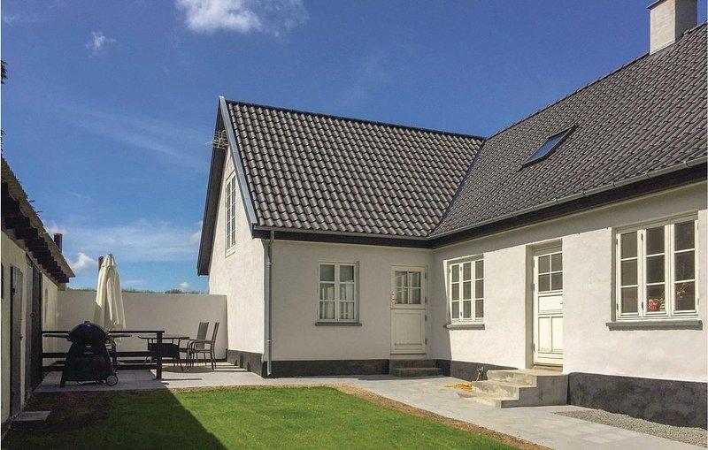 3 Zimmer Unterkunft in Østermarie, location de vacances à Pedersker