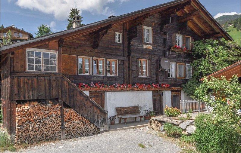 3 Zimmer Unterkunft in Hasliberg, holiday rental in Canton of Bern