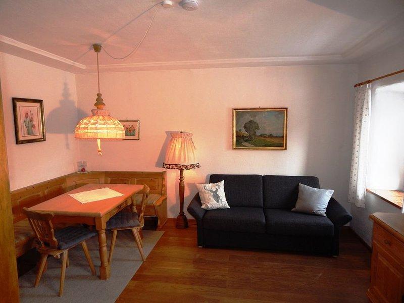 F-Fewo Längauer-Alm (52qm), Balkon, Kochnische, 2 Schlaf- und 1 Wohn-/Schlafz.,, holiday rental in Ruhpolding