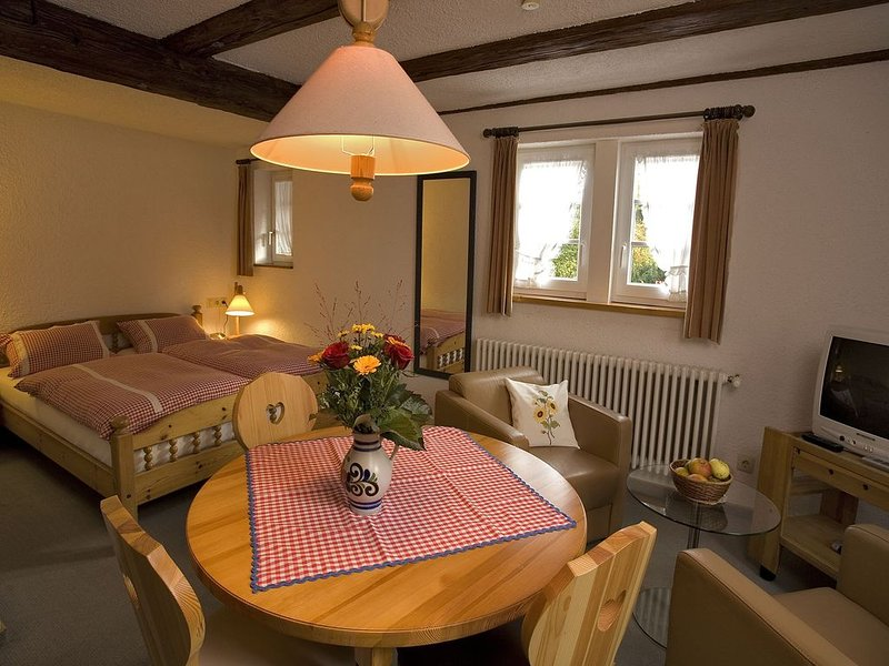 Appartement A2, 28qm, 1 Wohn-/Schlafzimmer, max. 2 Personen, vacation rental in Kandern