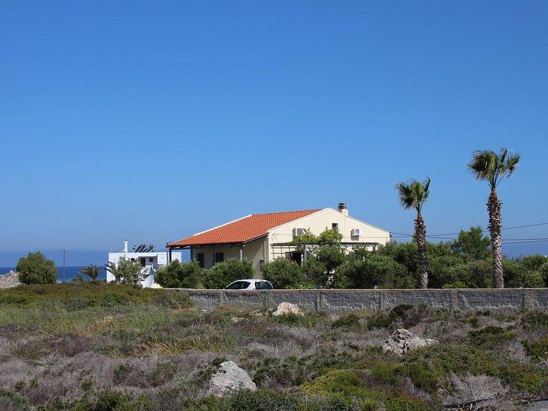 Traumhafter Meerblick, Wifi - Freistehendes Ferienhaus Stavros, Kreta, alquiler vacacional en Stavros