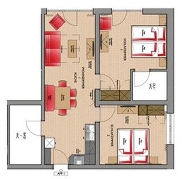 Ferienwohnung/App. für 4 Gäste mit 65m² in Sölden (94891), location de vacances à Kaisers