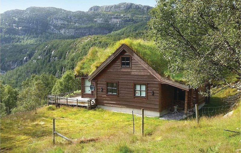 4 Zimmer Unterkunft in Vikeså, vacation rental in Rogaland