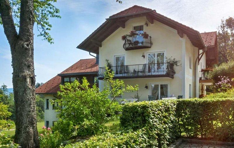 50qm Ferienapartment in herlicher Alleinlage im Bayerischen Wald - Blick auf den, location de vacances à Neureichenau