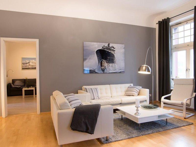 Modern geingerichtete Wohnung