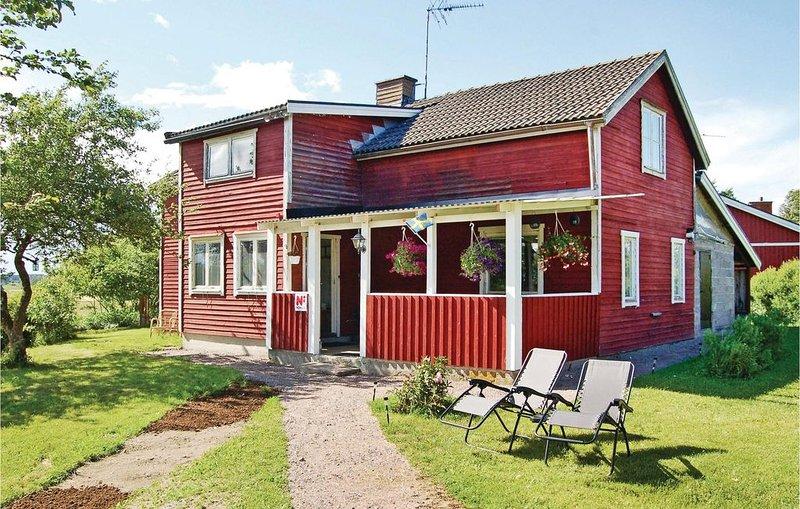 3 Zimmer Unterkunft in Söderköping, casa vacanza a Skarblacka