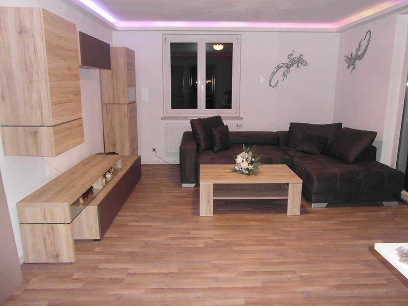Appartement-salon avec canapé-lit