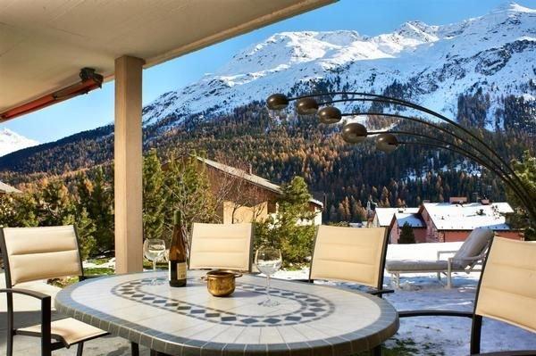 Ferienwohnung St. Moritz für 2 - 5 Personen mit 2 Schlafzimmern - Ferienwohnung, vacation rental in St. Moritz