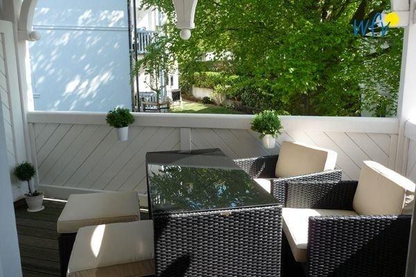 Komfortable Ferienwohnung mit sonniger Loggia!, holiday rental in Ostseebad Binz