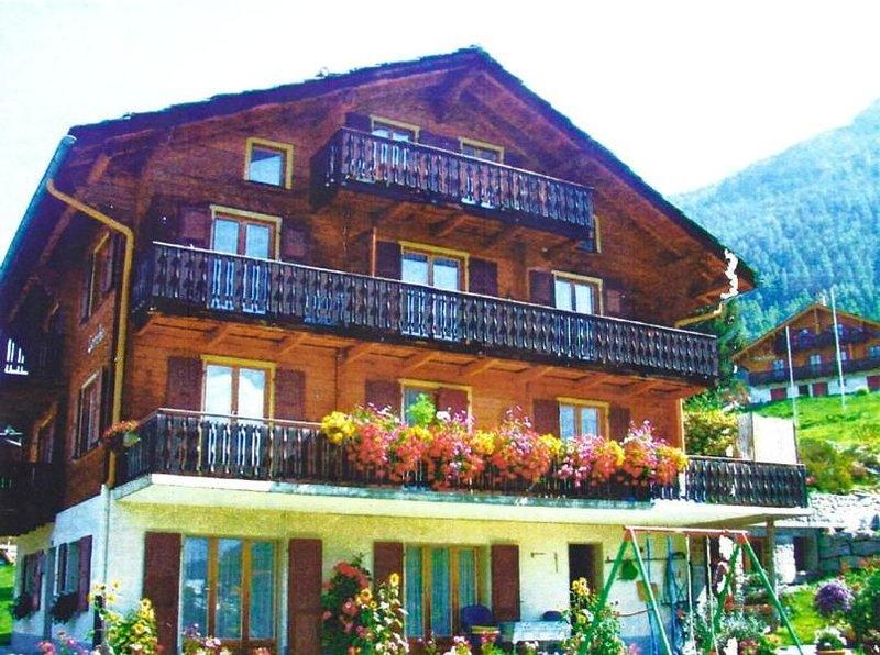 Ferienwohnung Grächen für 4 - 5 Personen mit 2 Schlafzimmern - Ferienwohnung, location de vacances à St. Niklaus
