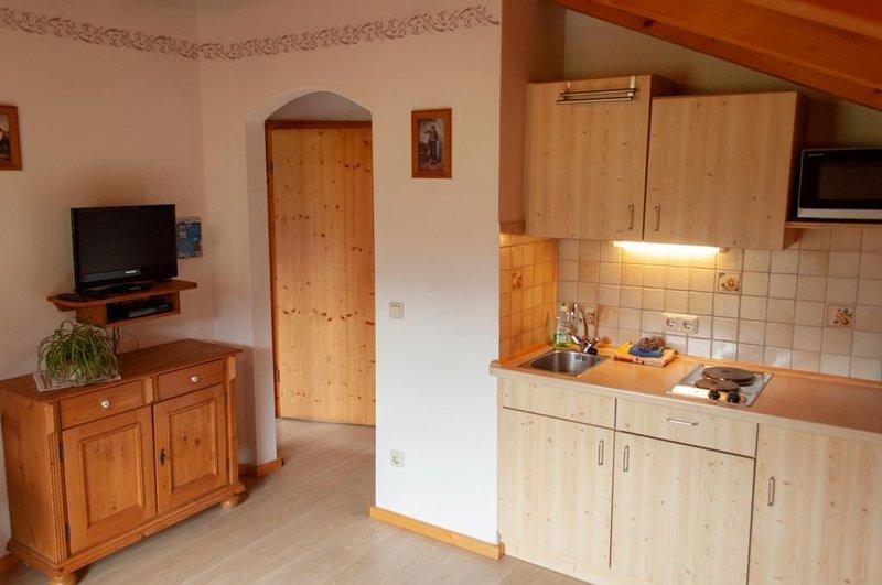 Wohnung Nr. 3 Dürrnbachalm 38 qm, Ferienwohnung in Reit im Winkl