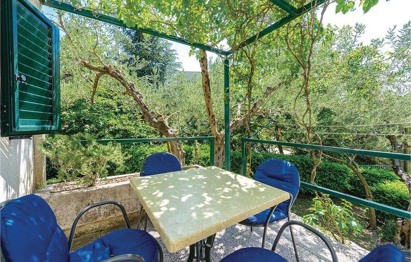 1 Zimmer Unterkunft in Klek, location de vacances à Metkovic